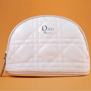 Dior Beauty Dome Cannage Cosmetic Bag